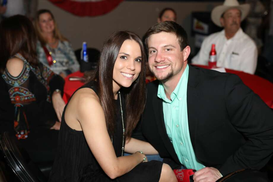 Before the 2017 San Antonio Stock Show & Rodeo, folks held a swanky old-fashioned ball Saturday night, Jan. 21, 2017, at the Freeman Coliseum. The Let's Rodeo Ball is an annual upscale party and fundraiser for the rodeo's scholarship fund. Photo: By Marco Garza, For MySA
