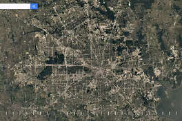 Google Maps shows the dramatic change in Houston's sprawl through the past 30-plus years.