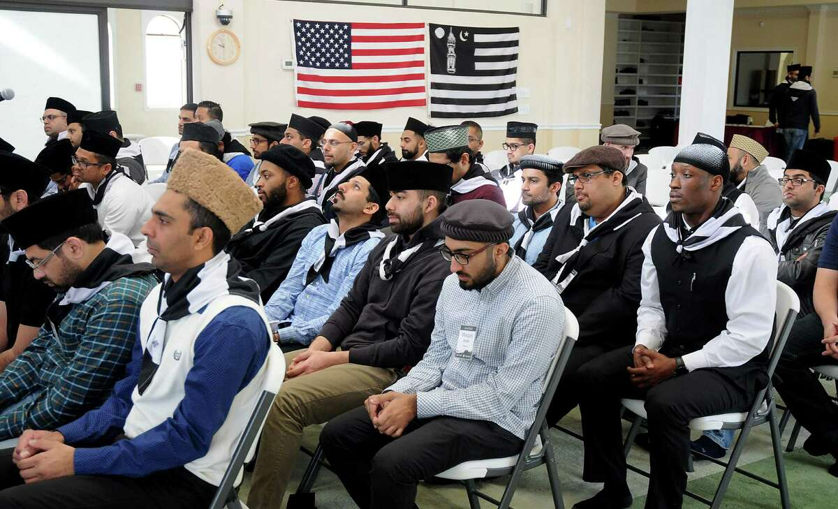 Delegates from 72 cities participate at the last day of the Ahmadiyya Muslim Youth Association Youth Summit at the Baitus Samee Mosque Sunday Jan. 22, 2017.(Dave Rossman photo)