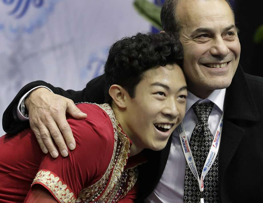 Nathan Chen Photo: Charlie Riedel, Associated Press