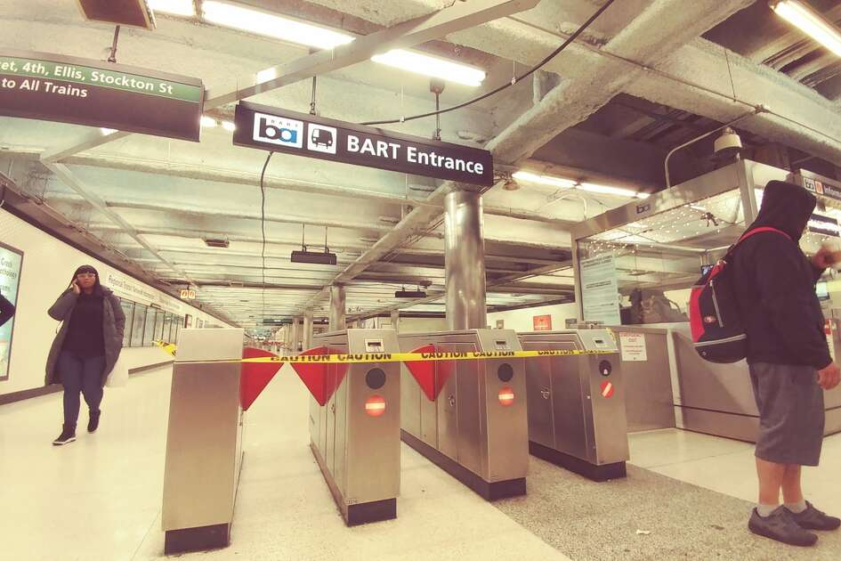 "The Powell Street BART station was closed Sunday afternoon due to ""a major medical emergency."""