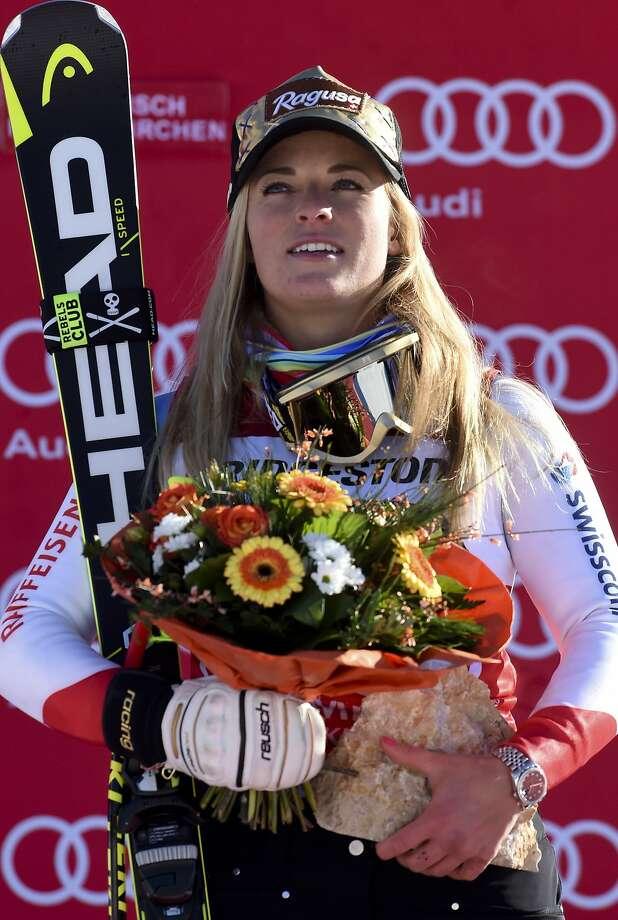 Switzerland's Lara Gut got her 22nd World Cup victory. Photo: Marco Tacca, Associated Press