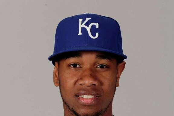 This is a 2016 photo of Yordano Ventura of the Kansas City Royals baseball team. This image reflects the Kansas City Royals active roster as of Thursday, Feb. 25, 2016, when this image was taken. (AP Photo/Charlie Riedel)