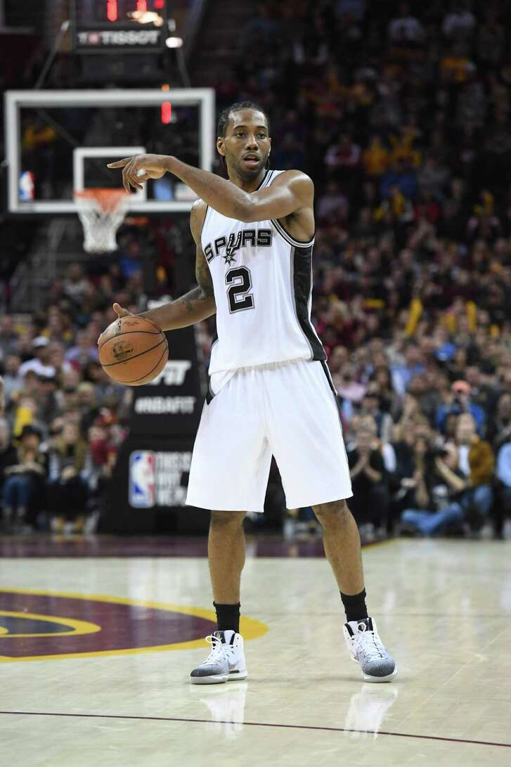 Spurs forward Kawhi Leonard is averaging 25.5 points per game this season, the most for a Spurs player since David Robinson posted 27.6 per game in 1994-95.