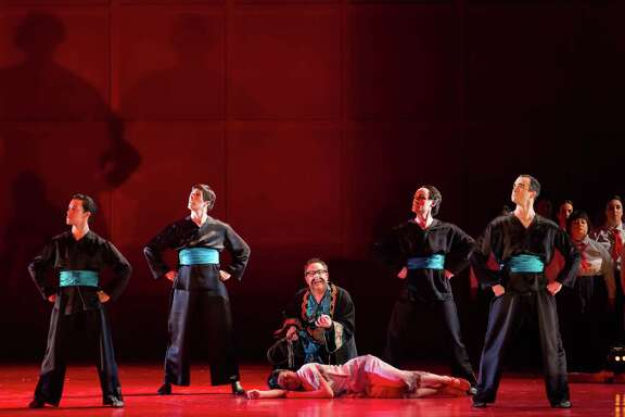 """Houston Grand Opera's production of """"Nixon in China"""" uses white actors for many of its Asian characters."""