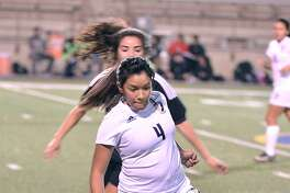 Alexander's Valentina Padilla and the Lady Bulldogs played to a 0-0 tie against Eagle Pass CC Winn this past Wednesday.