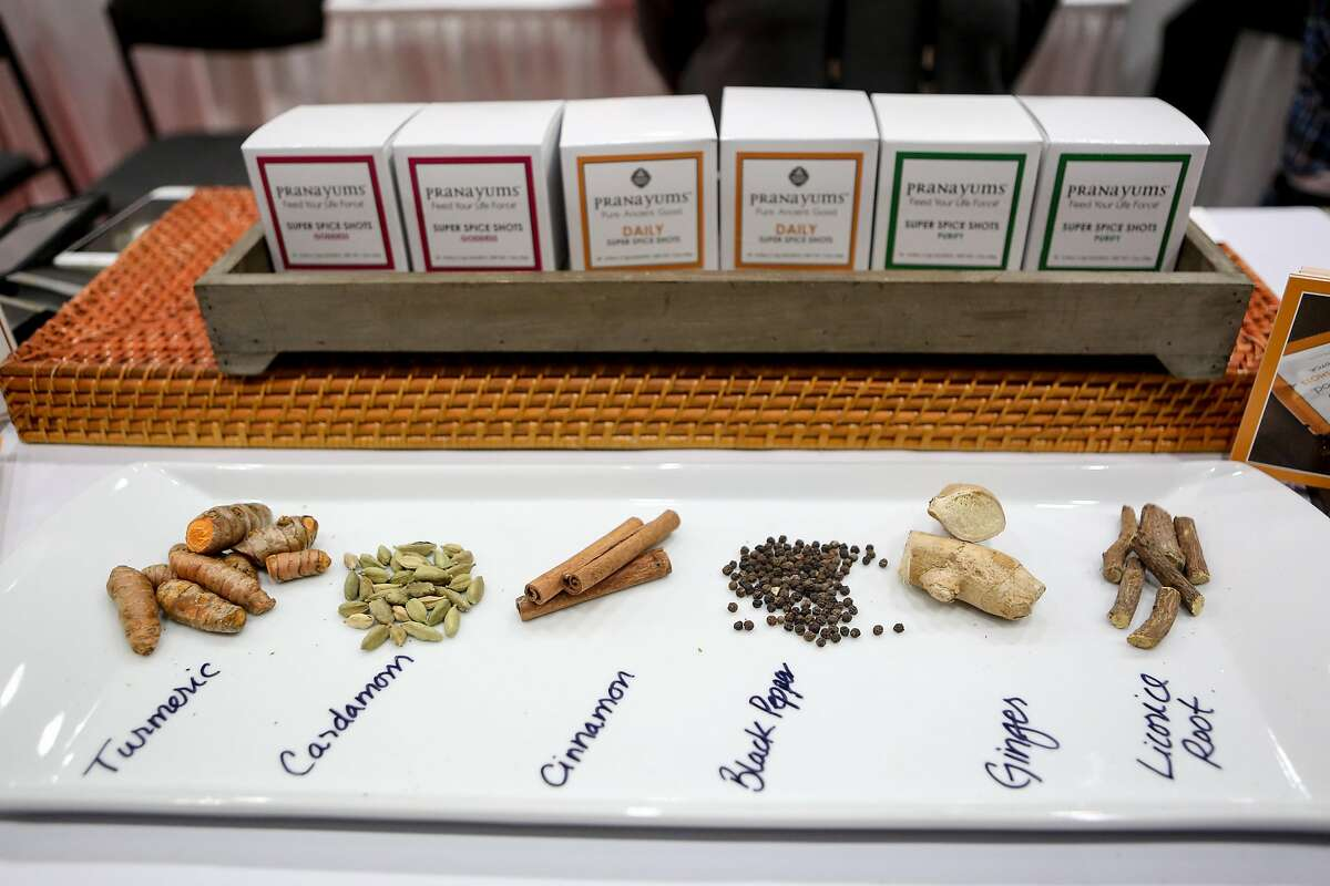Pranayums at the Fancy Food Show on Sunday, January 22, 2017 in San Francisco, Calif.