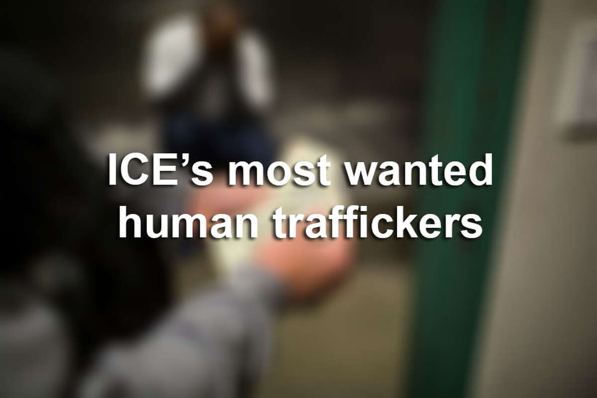 Seven men make up the U.S. Immigration and Customs Enforcement list of their most wanted human traffickers.Click through the slideshow to see who ICE is looking for.