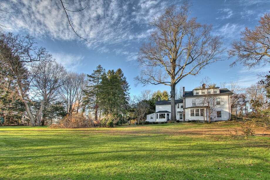 963 Hulls Hwy, Southport, CT 06890  5 beds 6 baths 4,142 sqft  Built in 1754 Features:  Detached garage includes bonus room above with full bath and kitchenette, tennis court  View full listing on Zilow Photo: Zillow