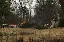 Firefighters and tankers from 17 Litchfield County towns were battling a structure fire early Monday at the former site of the Wykeham Rise School for Girls in Washington.