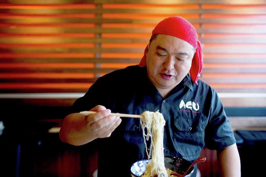 Hisashi Uehara is the chef/owner of Agu Ramen, a Hawaii-based ramen restaurant concept. Photo: Agu Ramen