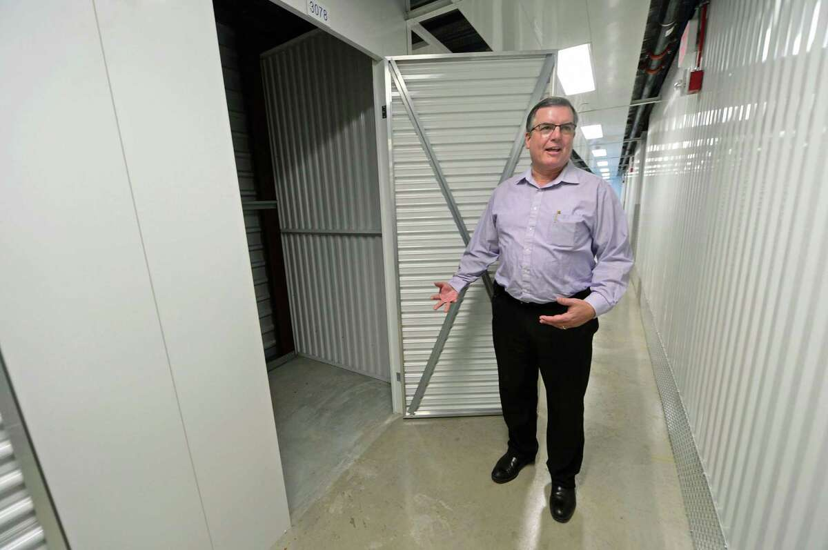 Secure Self Storage Senior District Manager of Operations Bill Green on Jan. 19, 2017 at the company's new facility at 587 Connecticut Ave. in Norwalk, Conn.