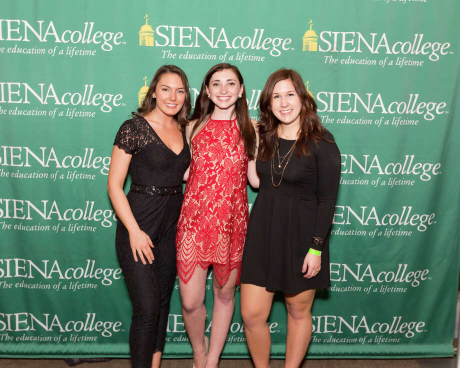 "Were you Seen at Siena College's eighth Annual Senior Gift Kickoff Party in the Sarazen Student Union on the Siena College campus in Loudonville on Sunday, January 22, 2017? 235 Siena seniors were ""adding a night to senior year"" by returning a day early for the event. Photo: Tony Purificato"