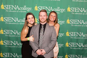 """Were you Seen at Siena College's eighth Annual Senior Gift Kickoff Party in the Sarazen Student Union on the Siena College campus in Loudonville on Sunday, January 22, 2017? 235 Siena seniors were """"adding a night to senior year"""" by returning a day early for the event."""