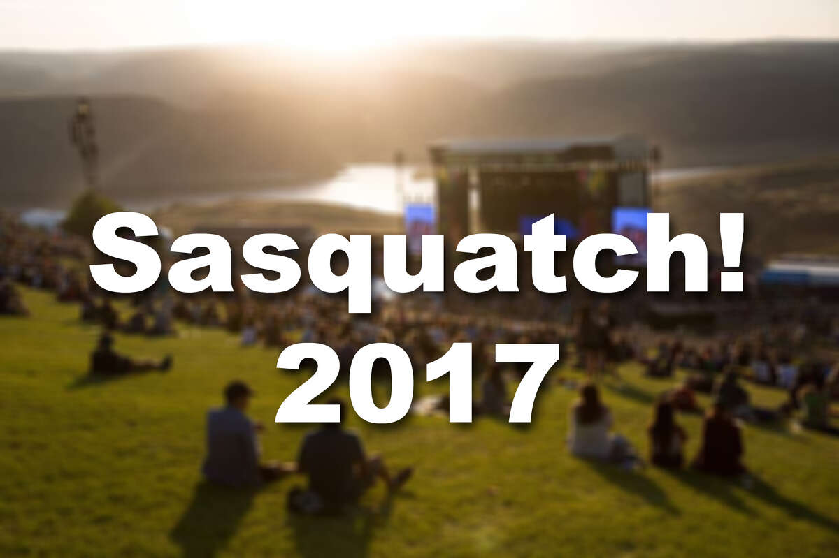 This year's Sasquatch! lineup is here! The Memorial Day weekend festival -- happening this year May 26 to 28 -- will start selling tickets at 10 a.m. Saturday. Check out some of the highlights ahead.