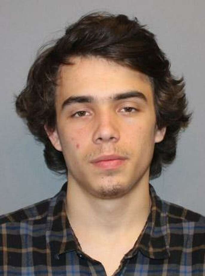 Adam Robertson, 18 of Newtown, Conn. was arrested in South Norwalk Sunday, Jan. 22, 2017 and charged with theft of a firearm, weapons in a motor vehicle, carrying a gun without a permit, possession of drug paraphernalia, and possession of a controlled substance. Photo: Norwalk Police Dept. / Contributed Photo / Norwalk Hour contributed