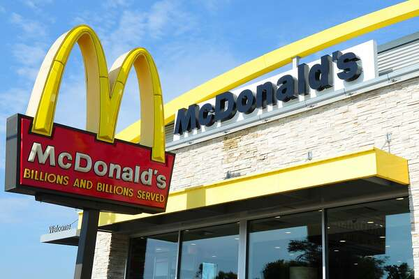 (FILES) This file photo taken on September 10, 2016 shows the McDonald's restaurant in Gettysburg, Pennsylvania. McDonald's reported slightly lower fourth-quarter earnings on January 23, 2017 as strong sales in Britain, Japan, China offset a drop in the United States. The fast-food giant, which modified its menu in its home market after a lengthy slump, and restructured its international business, said its turnaround remained on track. / AFP PHOTO / Karen BLEIERKAREN BLEIER/AFP/Getty Images