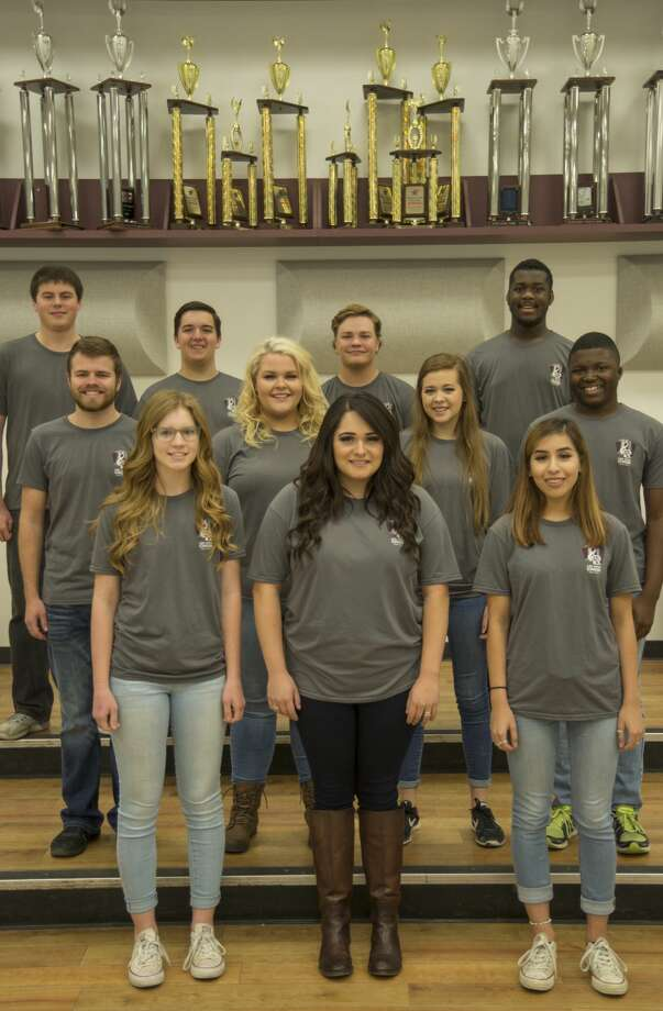 11 members of Lee High choir were selected as All-State students; front, Aubry Jarman, Krystina Arguello, Annelisa Martinez, second row, Gus Pollock, Savannah Waltenbaugh, Canlyn Korner, Christian Shedwin, back row, David Anderson, Cannon Hawkins, Zachary Harrell and Charles Johnson. Thursday 01-19-17 Tim Fischer/Reporter-Telegram Photo: Tim Fischer/Midland Reporter-Telegram