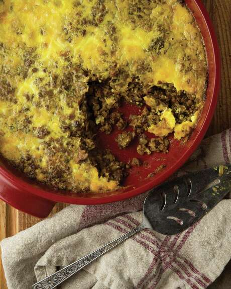 Bobotie is a classic South African dish. Shaw infuses venison into his version. Photo: Courtesy Holly A. Heyser / Holly A. Heyser, heyserphoto.com