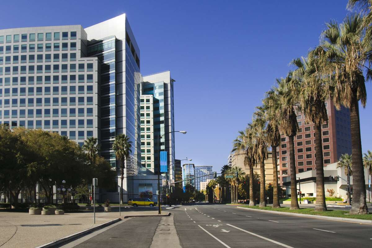 10. Worst: San Jose, Calif. Total score: 42.0 Median income: $100,469 Un-employed: 5.7% Debtor friendly grade: C