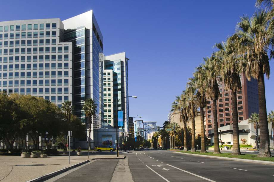 The downtown skyline of San Jose. Chronicle Photo by Michael Macor. Scroll ahead to see some of the most unaffordable housing market areas in the world.