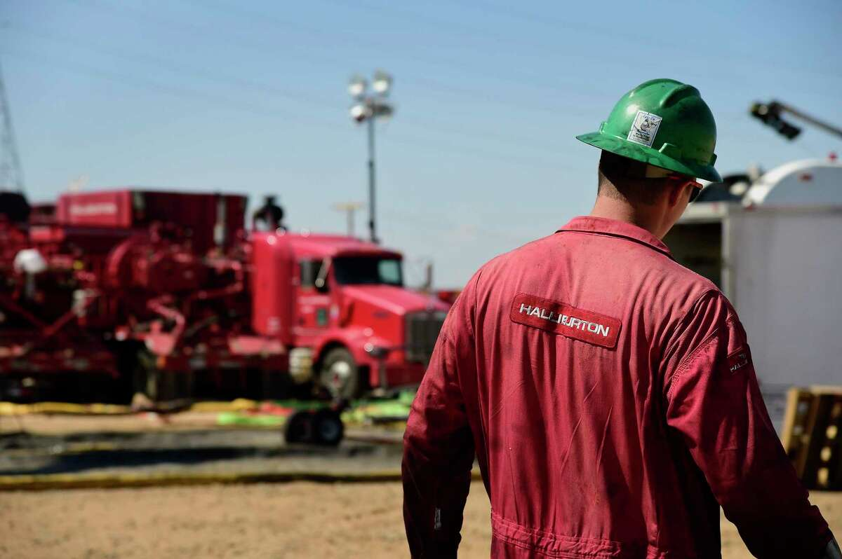 Houston oilfield service giant Halliburton reported a $1 billion loss during the first quarter after writing down $1.1 billion worth of assets due to record low oil prices and falling demand due to shutdowns related to the coronavirus pandemic.