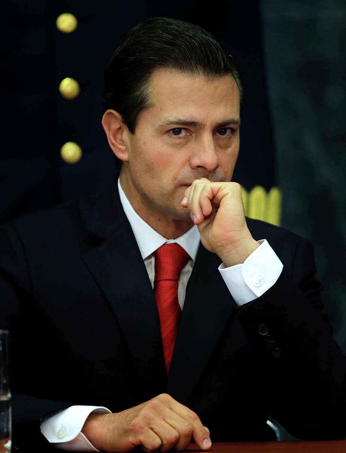 Mexico's President Enrique Peña Nieto says