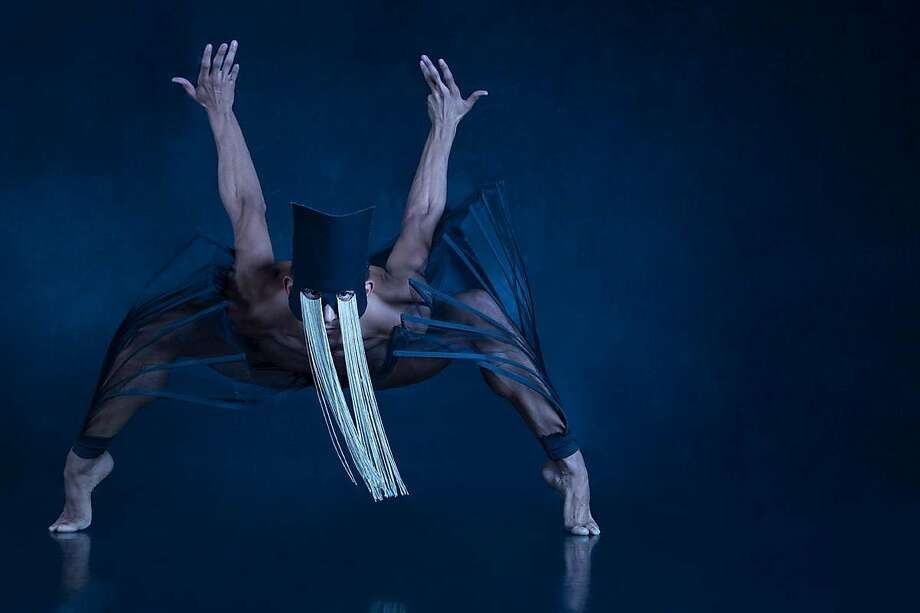 "Isaiah Bindel in Gregory Dawson's ""Les Vérités"" at Yerba Buena Center for the Arts Theater. Photo: Devi Pride Photography"