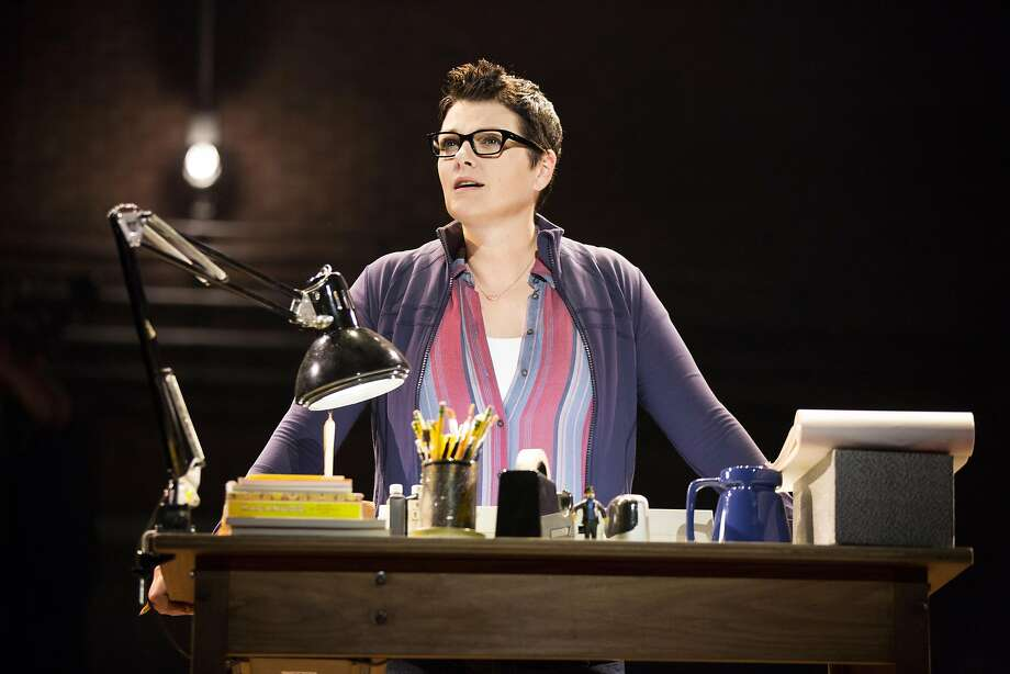 "Kate Shindle as Alison in ""Fun Home"" at the Curran. Photo: Joan Marcus, The Curran"