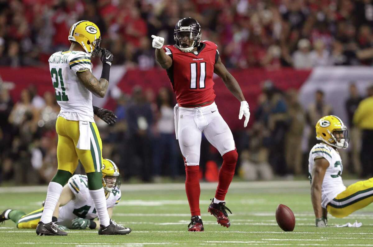 Julio Jones is the top target in a Falcons' passing attack that produced nearly 5,000 yards during the regular season.