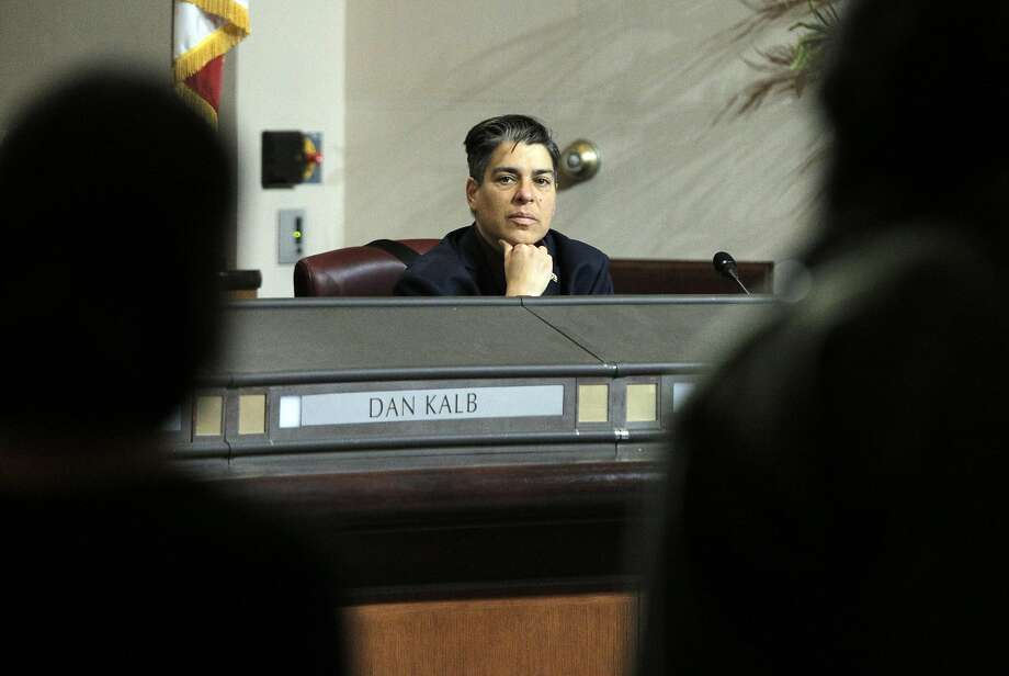 Supervisor Rebecca Kaplan listens to public commnet while council discussed city measures and resolutions related to the Ghost Ship fire during a city council meeting with several  at City Hall in Oakland, Calif., on Monday, January 23, 2017. Photo: Carlos Avila Gonzalez, The Chronicle