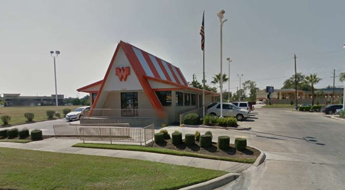Whataburger #120 4545 North Fwy Houston, TX 77022 (Week of Jan. 16-23) Demerits: 61 Inspection Highlights: Establishment not in compliance with Article II, Food Ordinance. Establishment not providing at least 110 F running water. Ice not protected by making (machine) for ice to be (operated /maintained) to prevent contamination of the ice. Observed black residues in the chute and under ice-maker by drive thru window. Discard all ice. Clean and sanitize the chute, under and all corners of ice-machine.