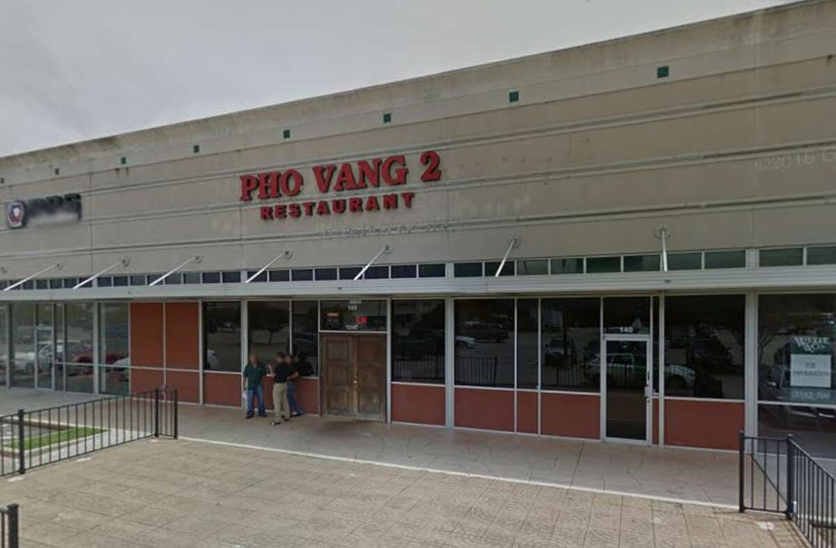 Pho Vang 2 13147 Northwest Fwy Ste. 140 Houston, TX 77040 (Week of Jan. 16-23) Demerits: 20 Inspection Highlights: Roaches crawling inside bulk food container of rice (five pounds). Rice was discarded. Provide and maintain foods safe for human consumption. Bare hand contact with ready to eat food prohibited. Observed with manager (Binh Tran) female employee picked up slices of pork meat with bare hands. Employees must wash their hands then put on single use gloves when handling ready to eat food.