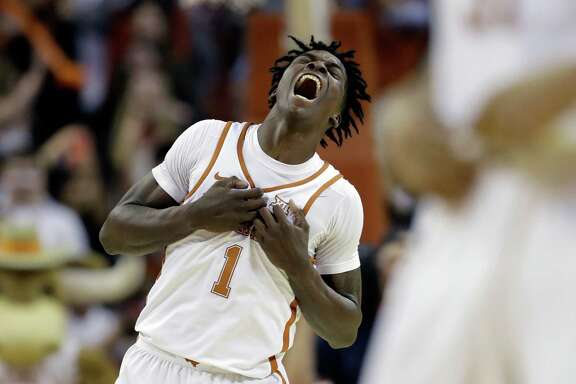 Andew Jones, who hit the winning 3-pointer against OU during the season, has decided to return to Texas for his sophomore season.