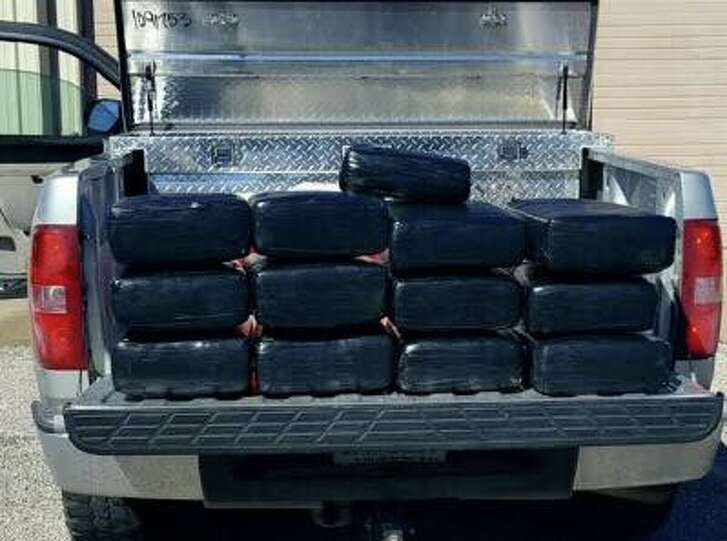 A Richmond police officer conducting a traffic stop along U.S. 59 on Jan. 23 discovered 274 pounds of marijuana in the toolbox of a pickup truck.