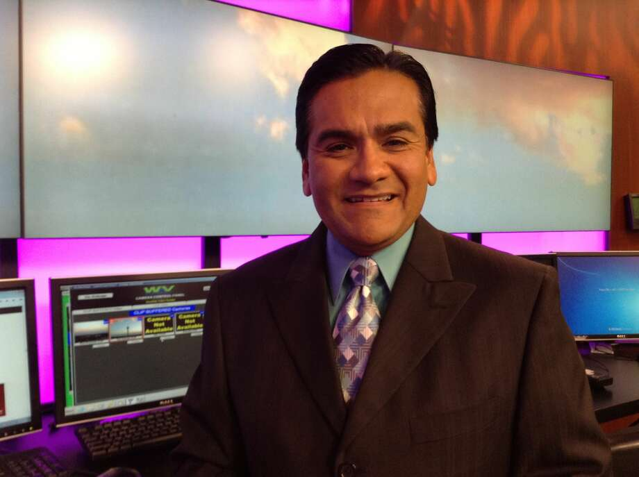 Veteran local meteorologist Robert Luna, who has been forecasting on KABB for 18 years, said his position was cut. Photo: Courtesy Robert Luna