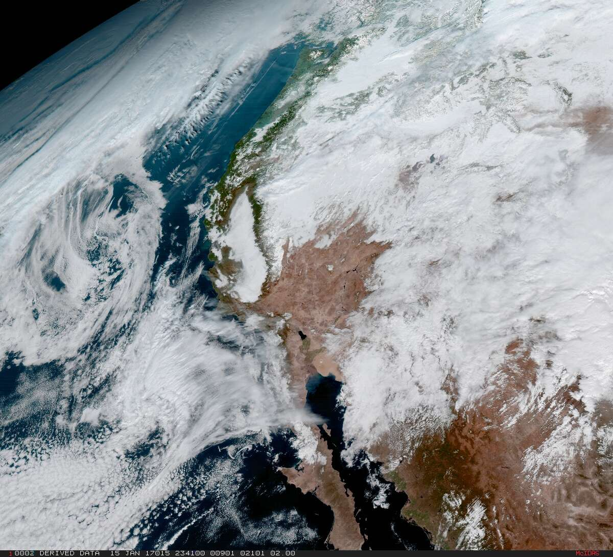 Recent images of Earth taken by GOES-16, the National Oceanic and Atmospheric Administration's newest weather satellite.