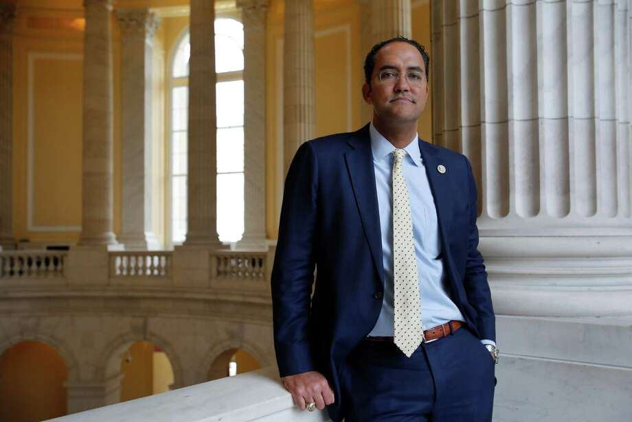 WASHINGTON, DC - January 19, 2017 - Rep. Will Hurd, R-TX, in the rotunda of the Cannon Building where his office is. Photo: Susan Biddle / Susan Biddle