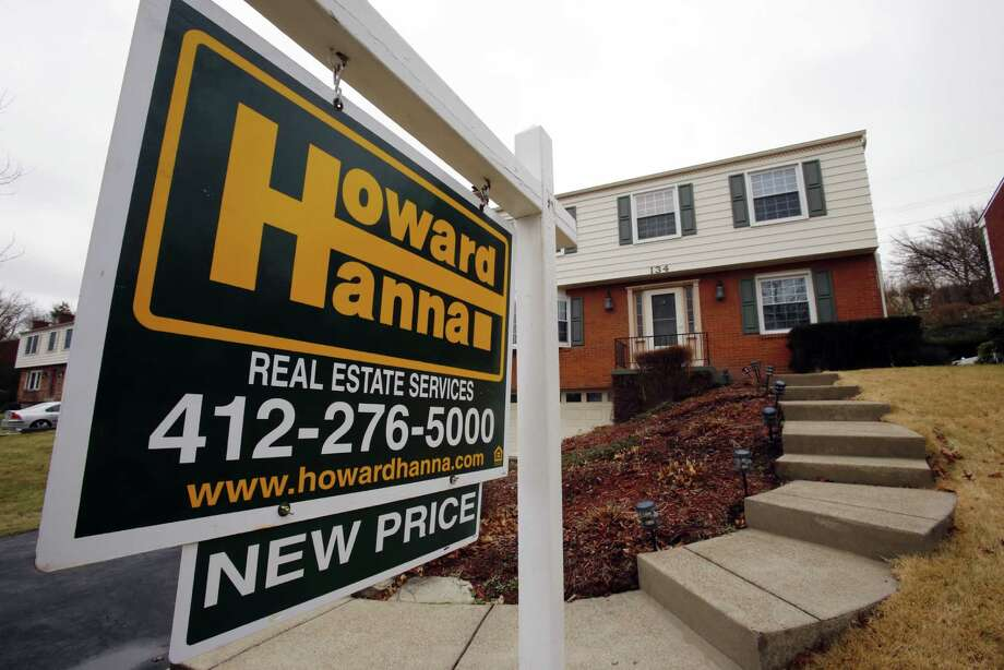The National Association of Realtors said Tuesday that sales of existing homes fell 2.8 percent last month to a seasonally adjusted annual rate of 5.49 million. For all of 2016, sales posted an annual gain of 3.8 percent to 5.45 million. Photo: Gene J. Puskar /Associated Press / Copyright 2017 The Associated Press. All rights reserved.