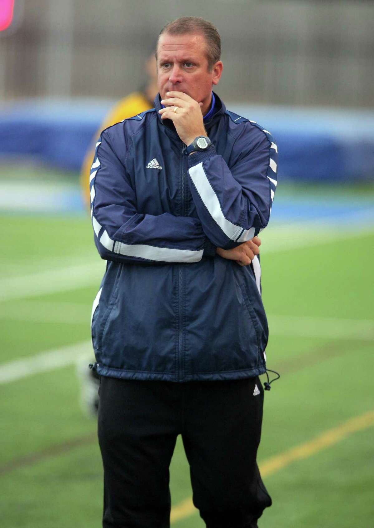 Friendswood boys' head soccer coach Stephen Peter hopes his young team can mature quickly as the District 24-6A race nears.