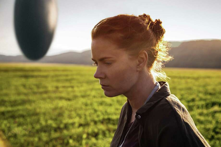 """p.p1 {margin: 0.0px 0.0px 0.0px 0.0px; font: 12.0px 'Helvetica Neue'; -webkit-text-stroke: #000000} span.s1 {font-kerning: none} """"Arrival""""Most of the movie rests on Amy Adams' shoulders, and she is given as many eloquent close-ups as Liv Ullmann used to have in her Ingmar Bergman vehicles."""