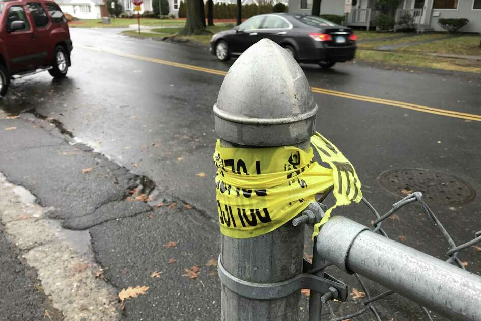 A 64-year-old woman was killed while crossing Longbrook Avenue, near Paterson Avenue in Stratford, Conn. on Tuesday, Jan. 24, 2017.
