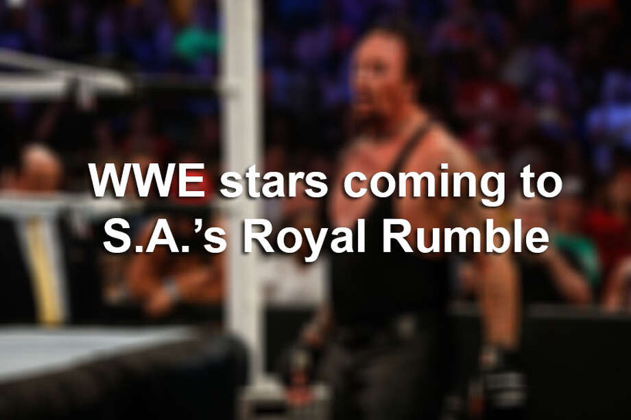 From the biggest stars in the WWE to veterans, here are the wrestlers who will make their way to San Antonio for Royal Rumble on Sunday, Jan. 29, 2017. Photo: File