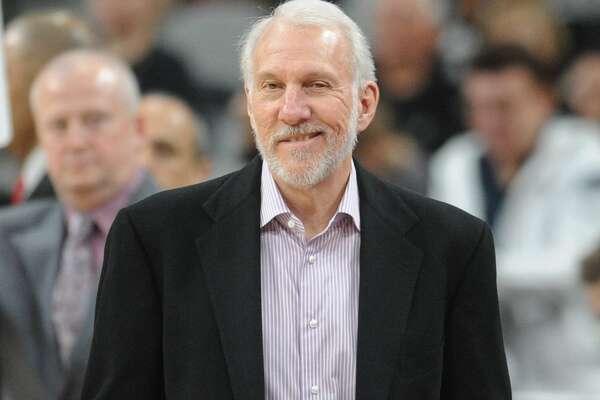 Spurs head coach Gregg Popovich
