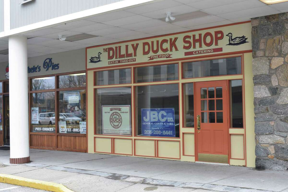 666 Main Ave: The Dilly Duck Shop's storefront remains a work in progress at 666 Main Ave. in Norwalk, near the Wilton line, with the company founded last year promising gourmet sandwiches, rotisserie, baked goods and other fare.