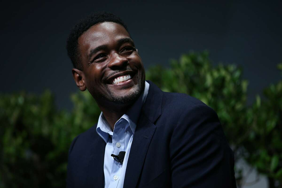 """Chris Webber in the """"From Protest to Progress: Next Steps"""" panel during San Jose State University's Institute for the Study of Sport, Society and Social Change, on Tuesday, Jan. 24, 2017 in San Jose, Calif."""