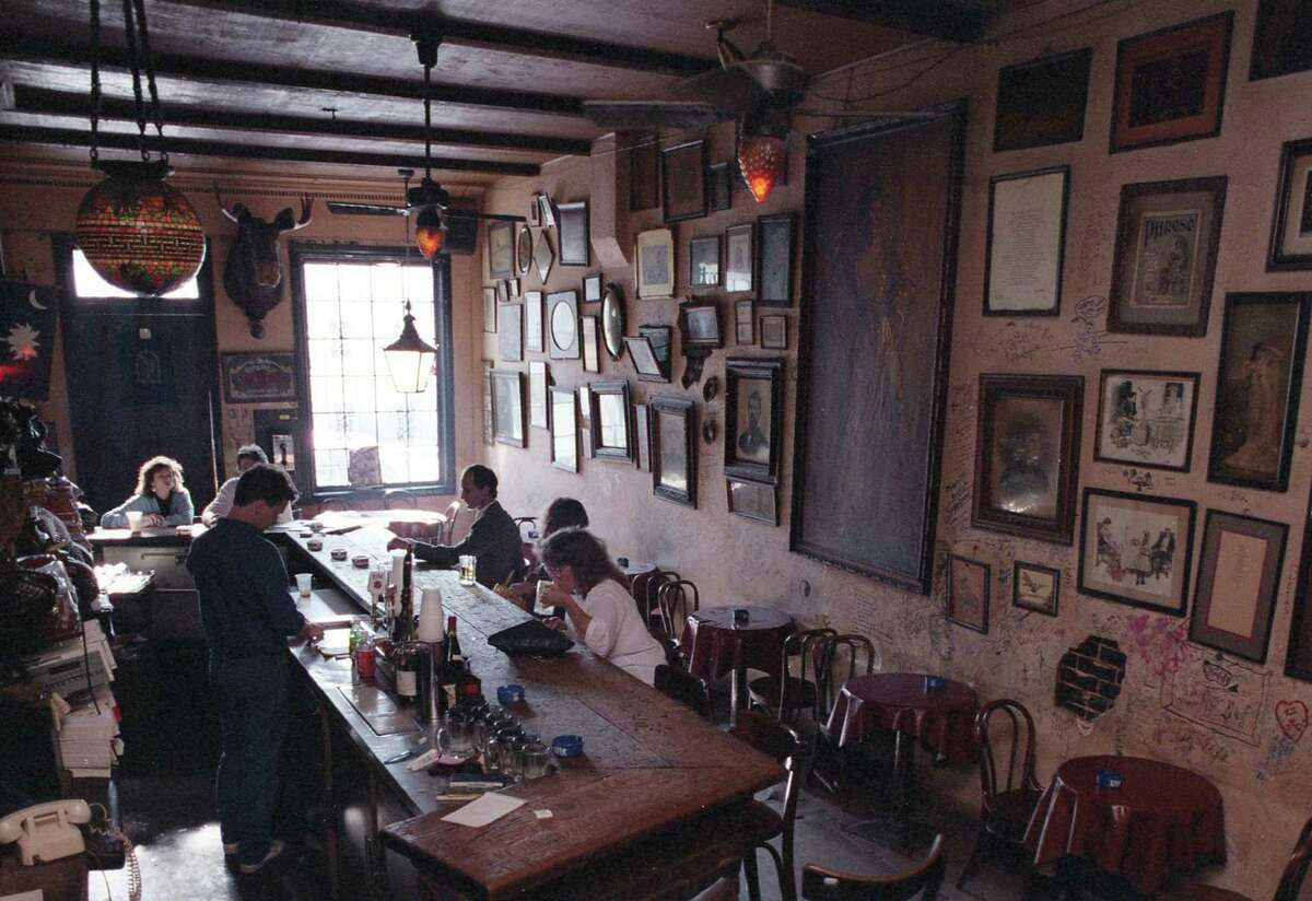 January 1987 - La Carafe, 813 Congress, Jan. 5, 1987. Not much has changed.