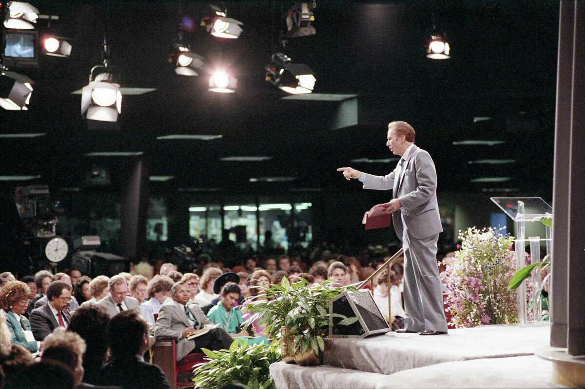 January 1987 - The Rev. John Osteen of Lakewood Church, Jan. 25, 1987.