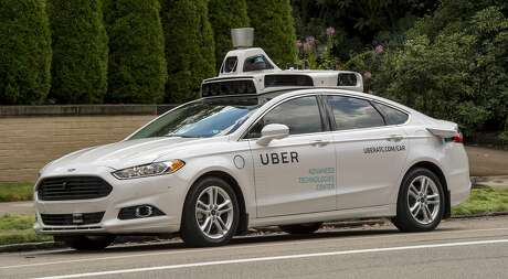 Uber's Ford Fusions, to be used for mapping, are cleared to go on the road in San Francisco.