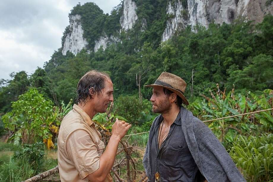 "Matthew McConaughey (left) plays a mining company owner in ""Gold,"" with Édgar Ramírez. Photo: Patrick Brown, Associated Press"